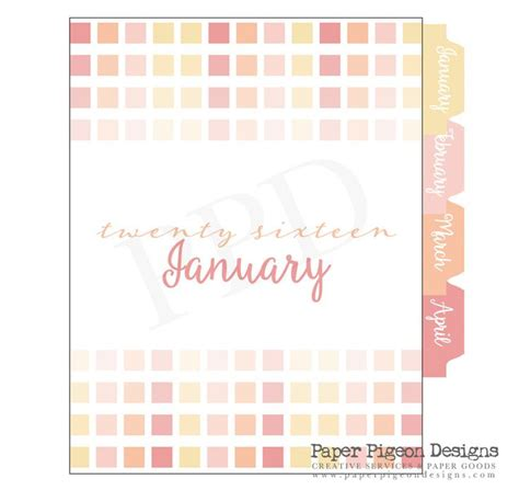 printable monthly planner tabs 1000 ideas about planner tabs on pinterest planner diy