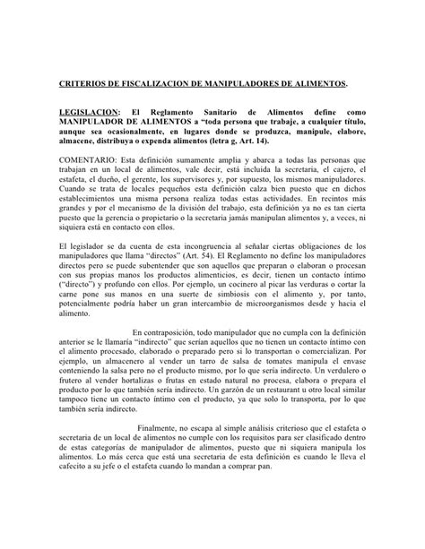 permiso de manipulacion de alimentos manipuladores de alimentos chile