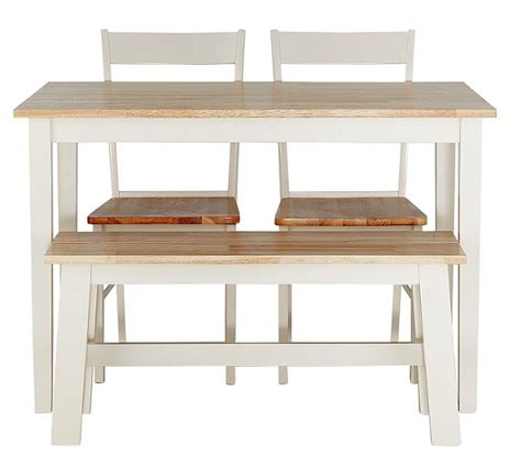 bench watches argos buy collection chicago dining table bench 2 chairs two tone at argos co uk your