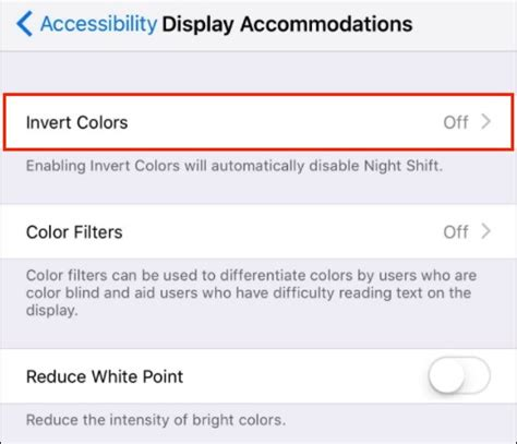 how do you invert colors on iphone how to disable enable smart invert in ios 11 iphone