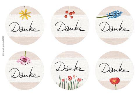 Aufkleber Briefumschlag Hochzeit by Aufkleber Sticker Danke Rund 40mm Lina