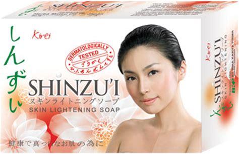 shinzui bar soap kirei g whitelily whitening soap