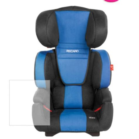 Booster Chair Age - recaro high back booster seat age 4 12 163 59 99 at