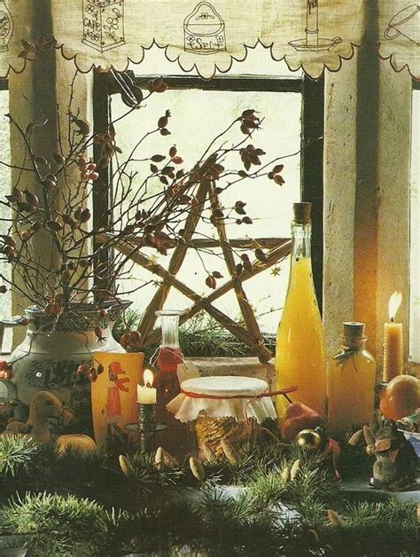 pagan christmas decorations
