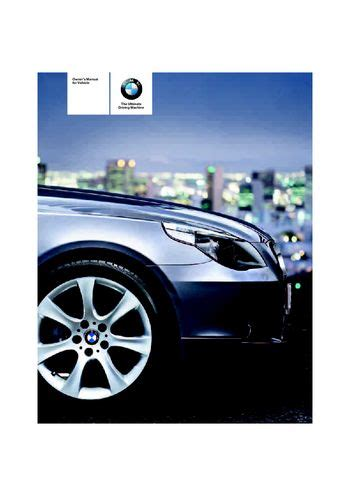 download 2007 bmw 530i owner s manual pdf 273 pages