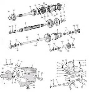 Toyota Gearbox Identification Toyota J30 Transmission Illustrated Parts Drawing Assiting