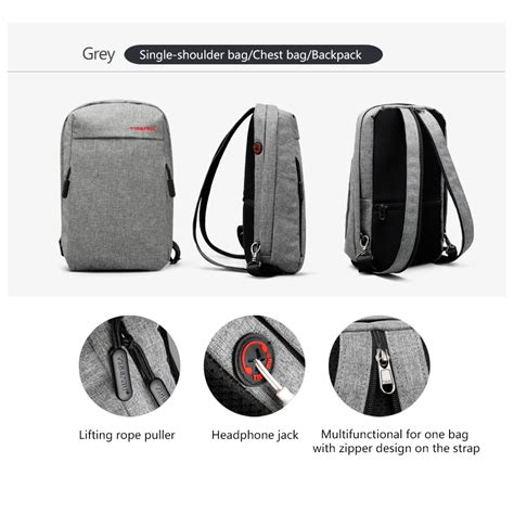 Tas Selempang Sling Bag Pickyourdenim Portand Grey tigernu tas selempang sling bag t s8038 gray jakartanotebook