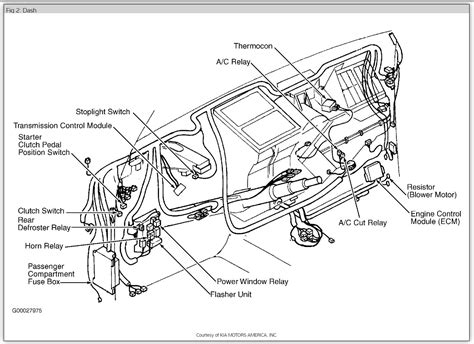 wiring diagram for 2000 kia sportage wiring diagram for