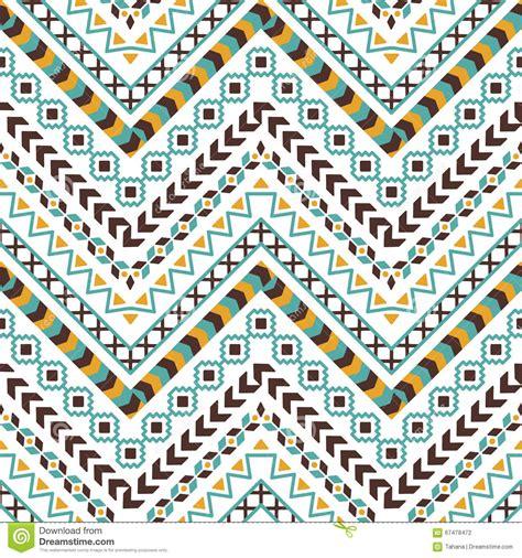 aztec tribal pattern vector vector tribal aztec seamless pattern stock vector image