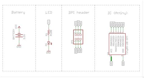pcb layout engineer definition pcb design standard header for i2c and isp electrical