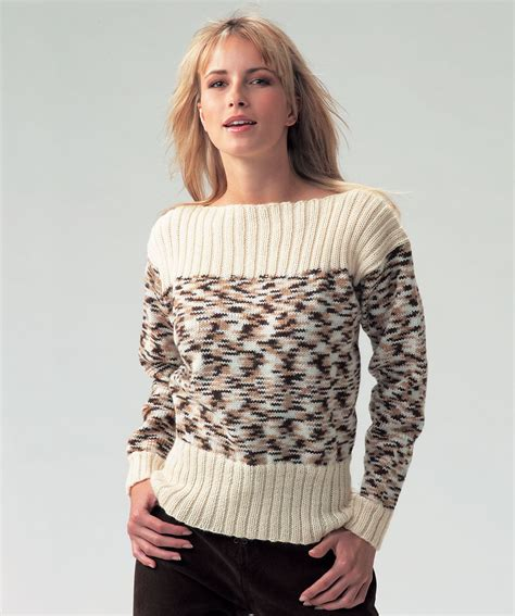 boat neck ladies jumpers boat neck ladies jumper free knitting pattern in