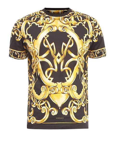 Versace Shirt versace barocco print t shirt t shirts a68988