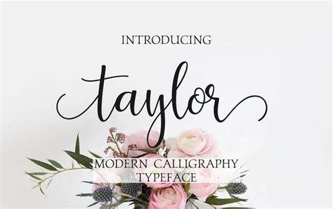 Wedding Fonts For Photoshop by Modern Calligraphy Font Digital Font Handwritten Font