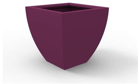 Purple Planter by Large Monaco Planter Purple Outdoor Pots