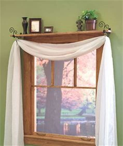 window shelf with curtain rod 1000 images about home decor ideas on pinterest window