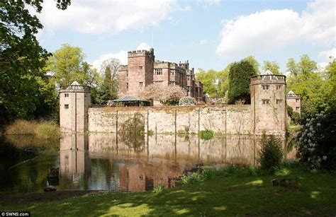 castles for sale in england one of england s last moated castles on sale for 163 5million daily mail online