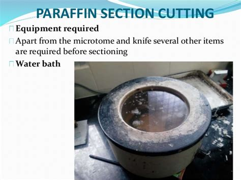 paraffin sectioning troubleshooting microtomes section cutting sharpening of razors