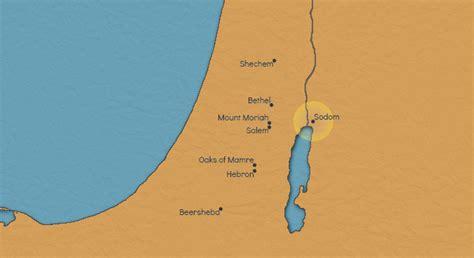 sodom and gomorrah map sodom and gomorrah btstories