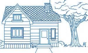 comment dessiner une maison allodessin