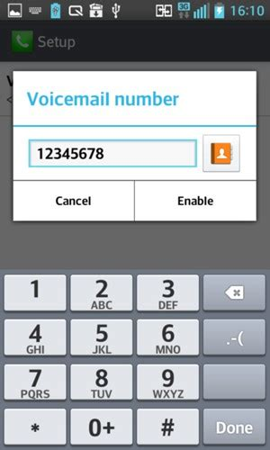 Phone Number Voicemail Lookup Access Voicemail Lg Optimus L7 Ii Android 4 1 2 Device Guides