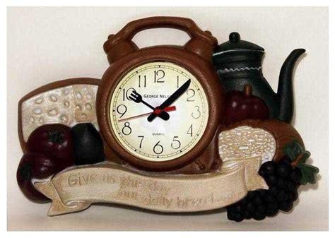 houzz wall clocks daily bread kitchen wall clock contemporary wall