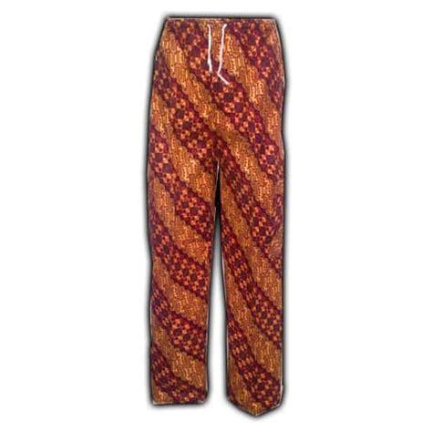Celana Pendek Batik Keren celana panjang kain batik pusaka dunia