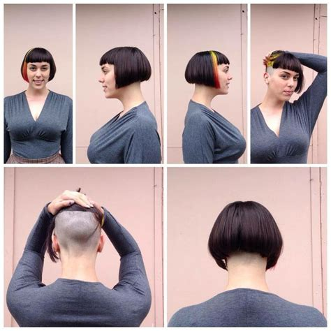 buzzed nape bob makeover 627 best images about short bob cuts on pinterest aline