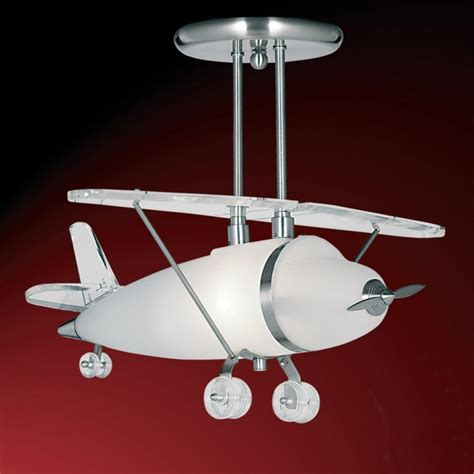 brighten your room with the airplane light fixture which