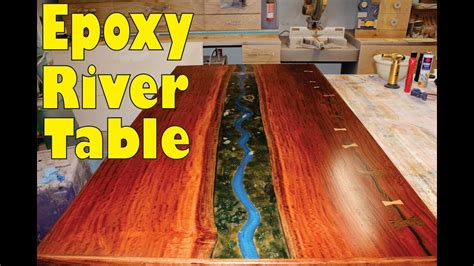 epoxy river table build youtube