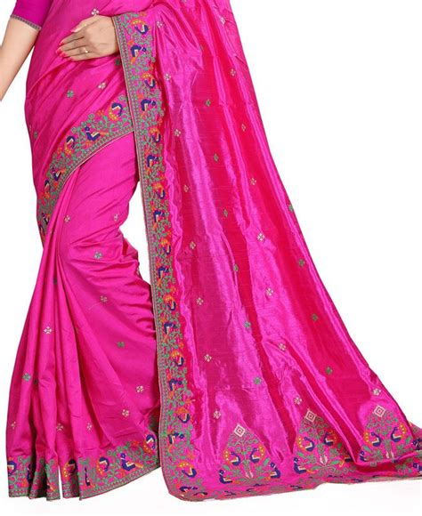 rani pink colour buy superb rani pink silk saree aprl1894 at 67 74 aud