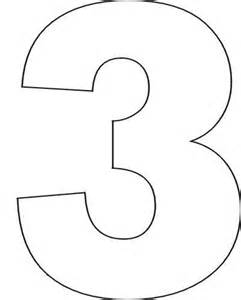 number three template best 25 number stencils ideas on number