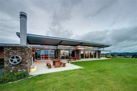 grand designs brick arch house okura house bossley architects archdaily