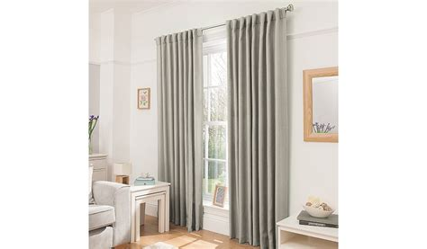 blackout curtains asda george home natural blackout curtains home garden