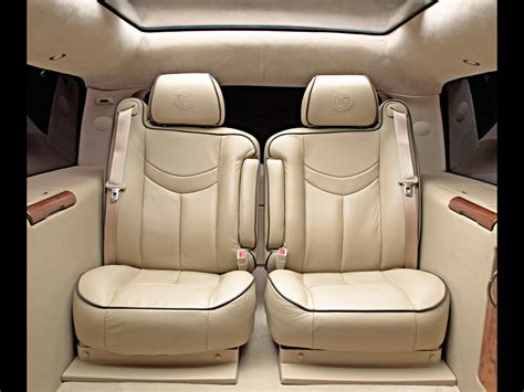 cadillac escalade seats 2003 cadillac escalade esv executive edition concept