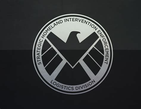 The By S I D marvels agents of s h i e l d logo confusions and