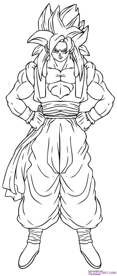 Desenhos Para Colorir Do Dragon Ball Z