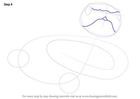 step by step how to draw a black mamba