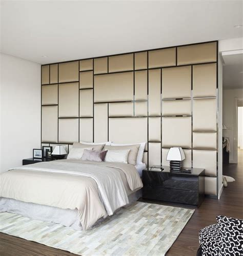 bedroom wall panels padded wall home basement pinterest patterns
