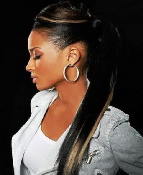 hair styles for prom that have a hump 112 best ponytails images on pinterest black women