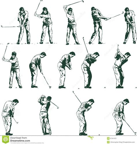 swing illustration golf swing stock illustrations 2 663 golf swing stock