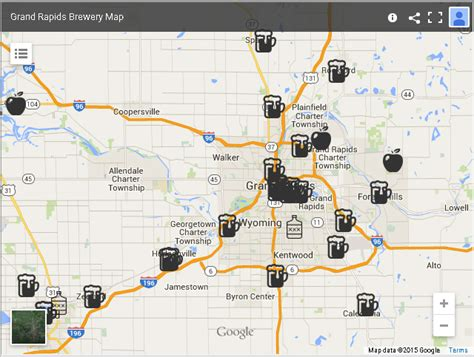 brewery map brewery map my