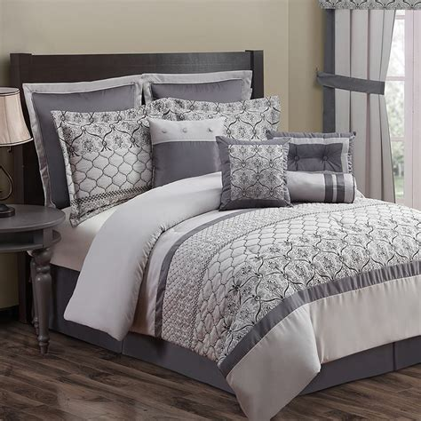 modern grey comforter grey comforter sets full modern bedroom with grey floral