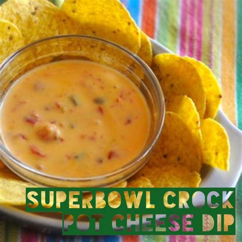 crockpot cheese dip