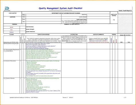 safety audit report template exle safety audit report and doc audit format 14