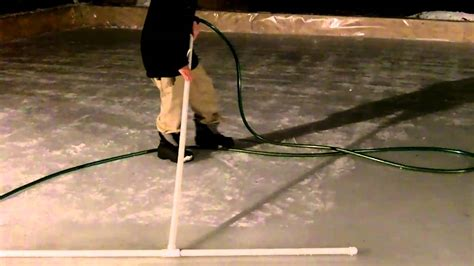 backyard rink resurfacer homemade ice rink rake homemade ftempo