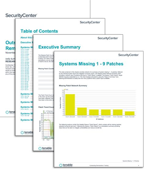 patch management report template outstanding remediations tracking sc report template