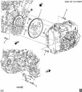 chevrolet traverse engine to transmission mounting