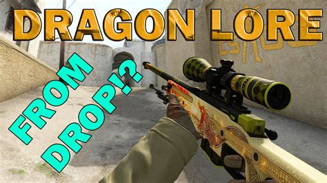 dragon tattoo cs go cs go dragon lore drop field tested youtube