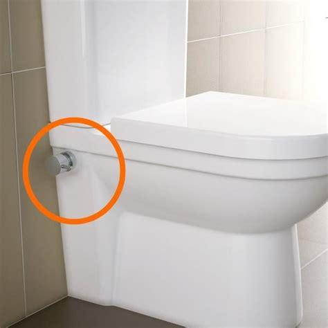 stand dusch wc mit dusche mit sp 252 lkasten weiss - Toilette Mit Eingebautem Bidet