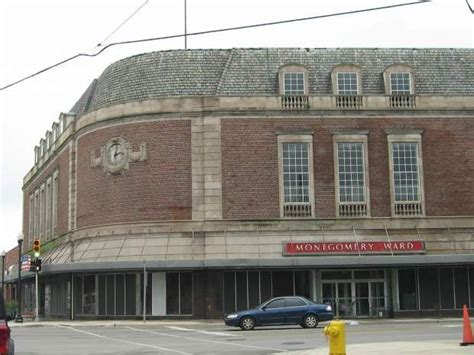 montgomery wards  greenfield grand river detroit
